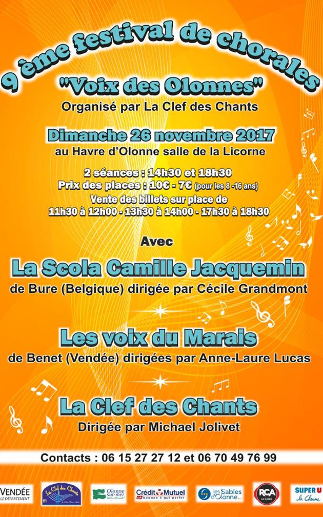 Affiche du concert du 17 mars 2018, La Schola Camille Jacquemin avec les Grandes Voix Cosaques de Kouban, le 17 mars 2018