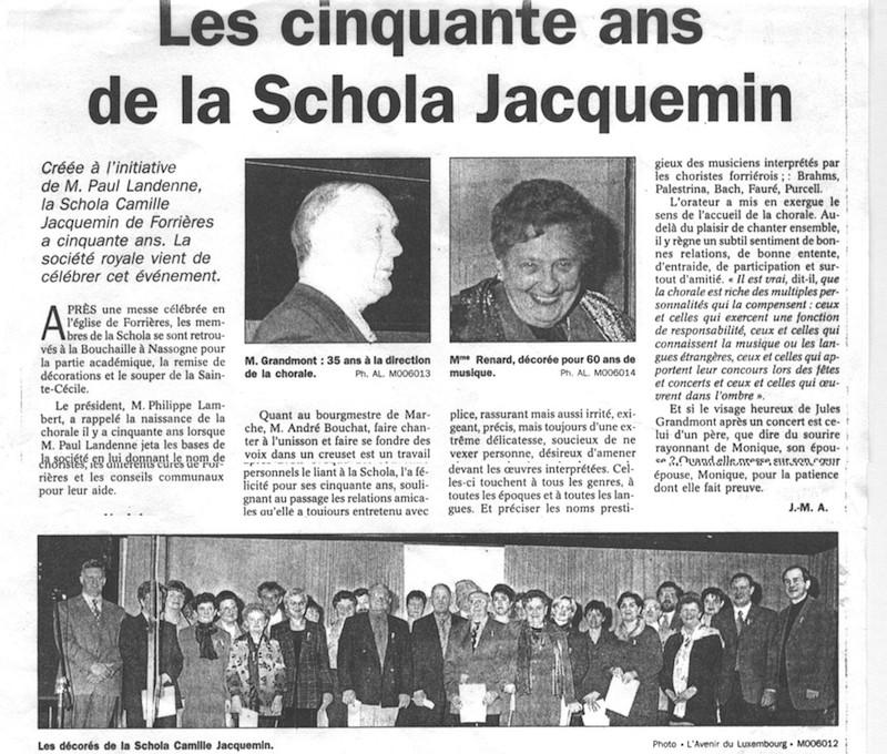 L'Avenir du Luxembourg, le 30 novembre 1999