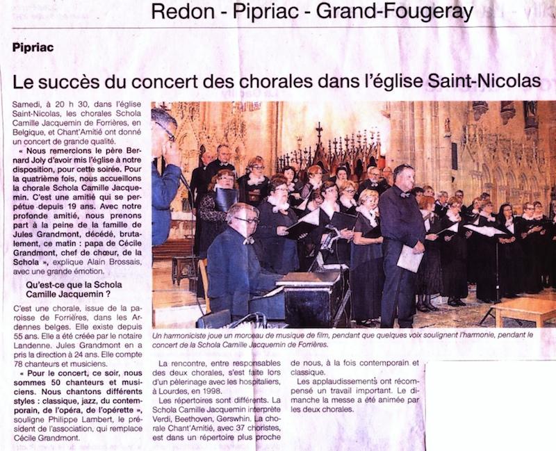 L'Avenir du Luxembourg, le 22 février 2007