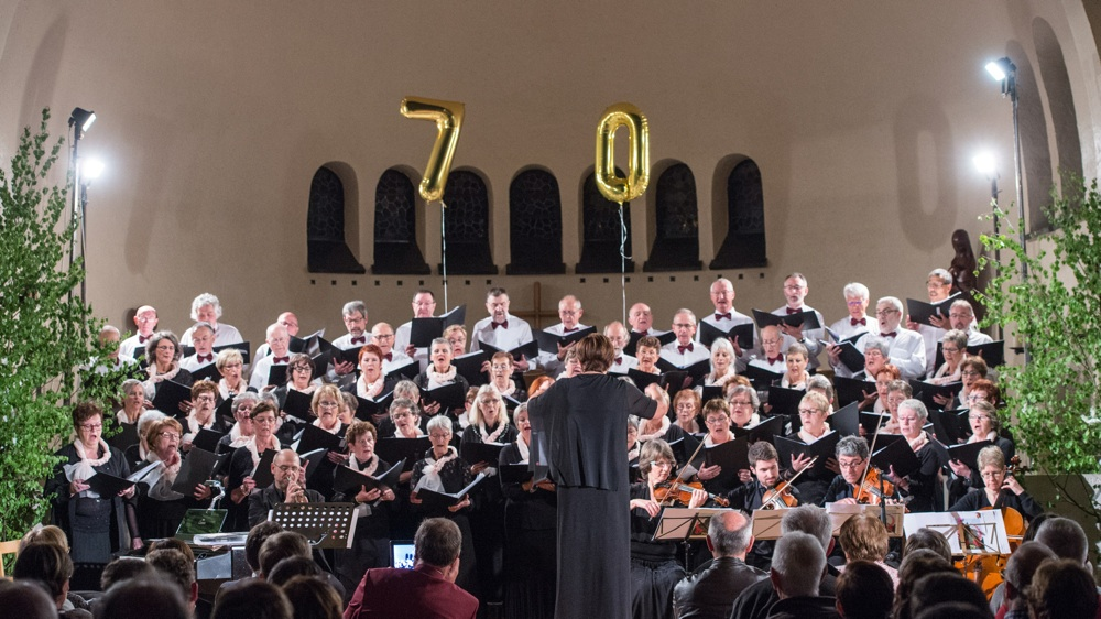 C'était le 11 mai 2019 à Forrières, le grand concert de gala de la Schola Camille Jacquemin à l'occasion du 70ème anniversaire de sa fondation